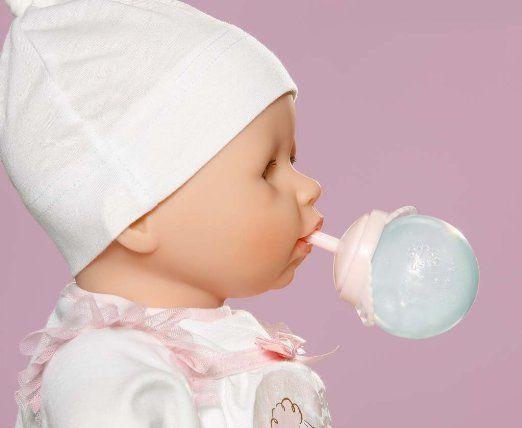 NEW ZAPF CREATION BABY ANNABELL DOLL MILK DRINK BOTTLE ...